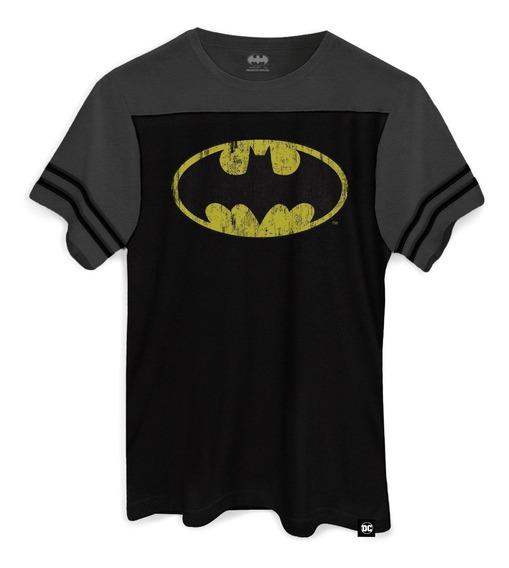 Camiseta Dc Comics Batman Logo Athletic