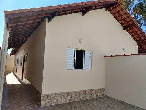 Casa Nova Primeira Quadra Em Itanhaém