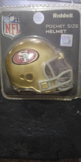 Nfl Mini Casco Riddell Speed San Francisco 49ers Temp 2014