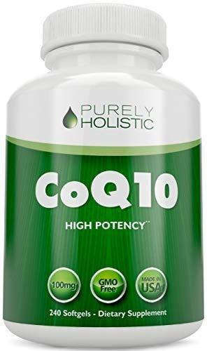 Coq10 240 Softgels 100% Devolución De Dinero De Alta Abs