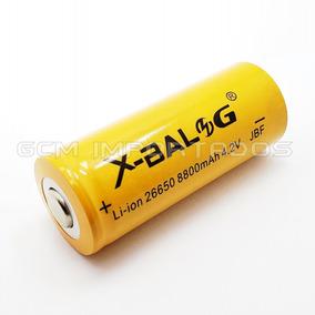 Bateria Pilha Gold Recarregável 26650 4.2v Li-ion 8800mah