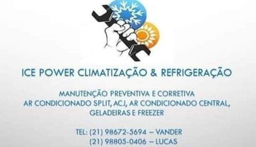 Imagem 1 de 5 de Ice Power Climatização E Refrigeração