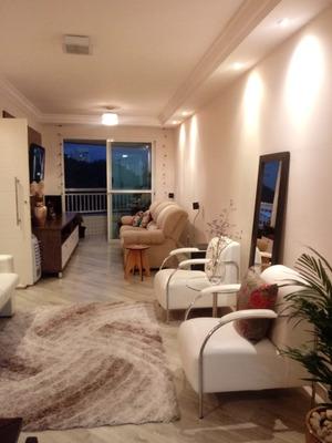Apto Mobiliado, 2 Quartos, 3 Salas E 3 Banheiros Rudge Ramos