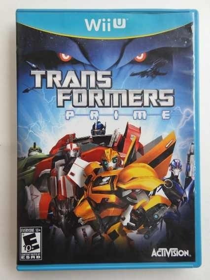 Jogo Transformers Prime - Wii U Midia Fisica Lacrado