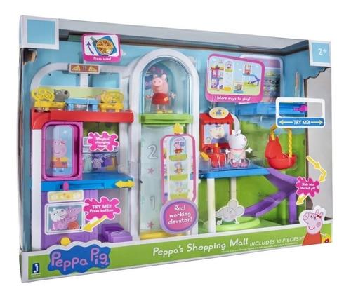 Imagem 1 de 8 de Playset Shopping Da Peppa - Peppa Vai Ao Shopping 2314 Sunny