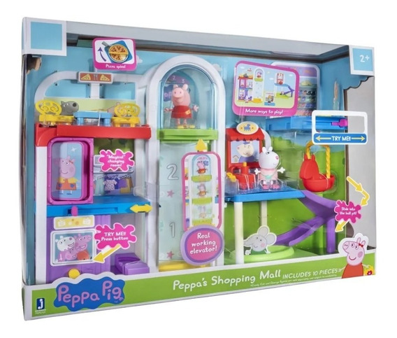 Playset Shopping Da Peppa - Peppa Vai Ao Shopping 2314 Sunny