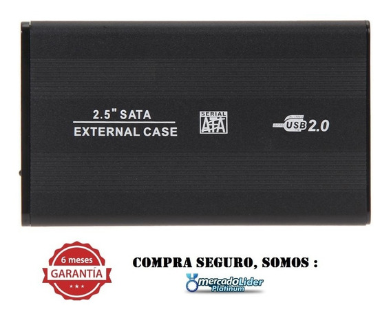 Disco Duro 320gb Externo Respaldo 6 Meses De Garantia