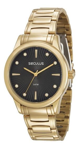 Relógio Feminino Seculus 23606lpsvds1 Promoção