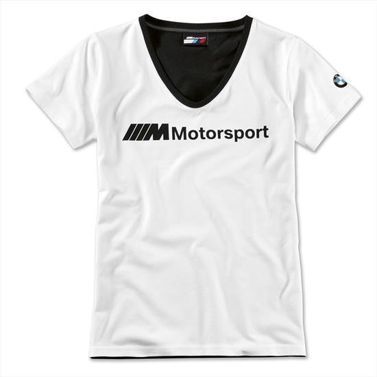 Camiseta Bmw Motorsport Feminina Tam M Original 80142461073