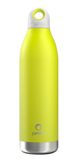 Termo / Botella Térmica Jambu De 550 Ml/18 Oz, Color Limón.
