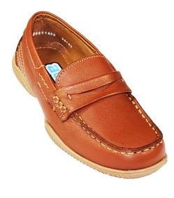 Zapato Escolar Colegial Mocasin Coqueta Niño 36103