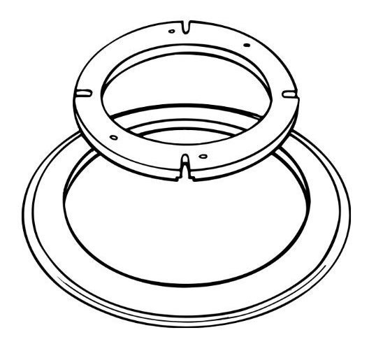 Sealand 385310139 Blanco Universal Kit De Montaje