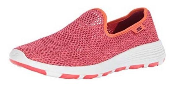 Suecos Panchas Zapatillas Skechers Mujer Go Walk Cool