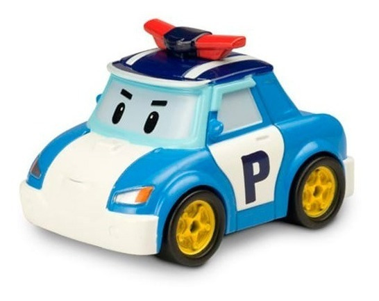 Robocar Poli Autito Metal Die-cast 83151 Exclusivo