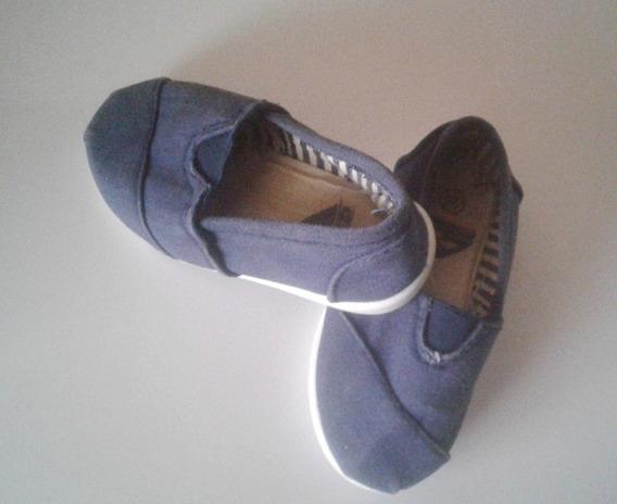 Zapatos Zapatillas Authentic Lona Niños Talla 24