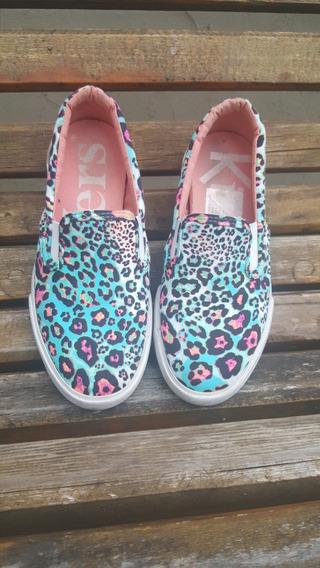 Zapatillas Panchas Kickers Nro 32 Como Nuevas