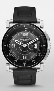 Diesel On Hybrid Smartwatch Prata C Preto Importado