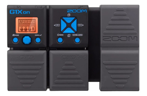 G1xon Zoom Pedaleira Multi-efeitos P/ Guitarra G1 X G1x On