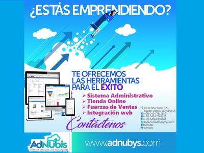 Sistema Administrativo Pos + Tienda Virtual Online Integrada