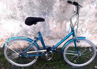 Bicicleta Aurorita Plegable Vintage-restaurada A Nueva - R22