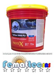 Protex Techos 5000pu X 5kg Membrana Impermeab. Poliuretano