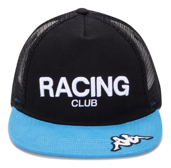Gorra Racing Club Aeoxoma Negro Hombre Kappa