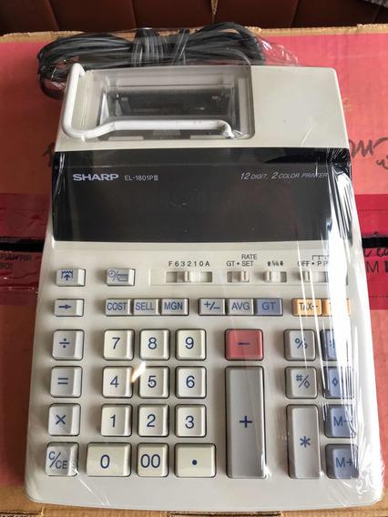 Calculadora Sharp 1801 (semi-nova)