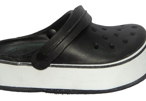 Crocs Altas Color Negro Del 35 Al 40