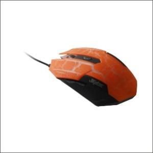 Mouse Gamer 3.200dpi 6 Botões Usb Laranja