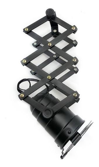 Luminária Spot Refletor Sanfona Decoração Industrial Par20