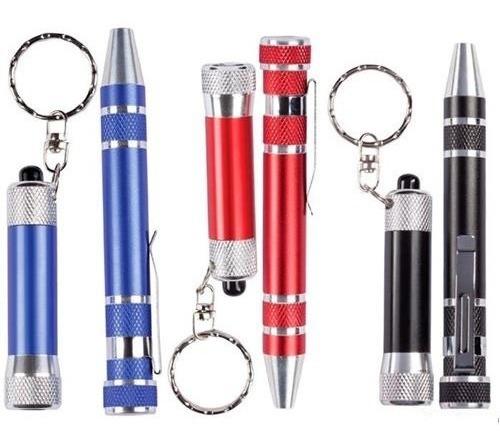 6 Lámparas Led Con Desarmador Kit
