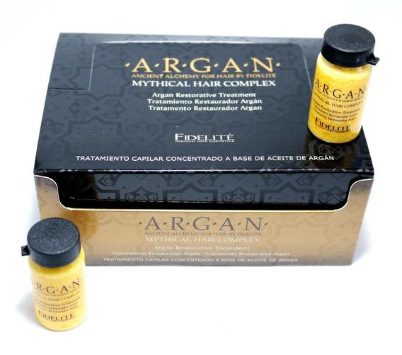 Ampollas Fidelite Argan Tratamiento Restaurador 12x15ml