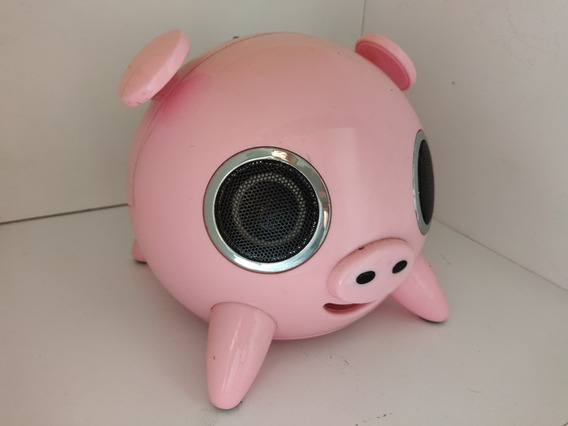 Caixa De Som Porco