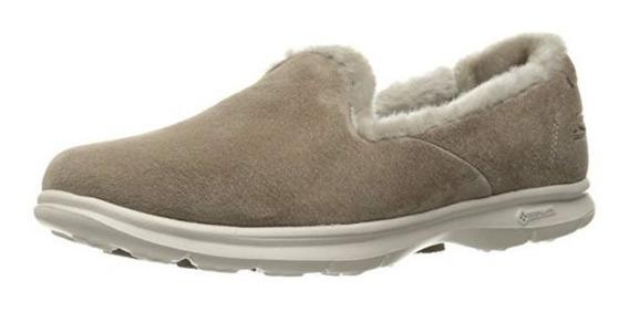 Zapatillas Para Caminar De Ante Aterciopeladas Skechers