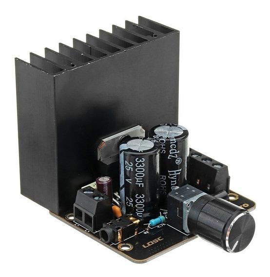 Amplificador Classe Ab Placa Tda7377 30 Wx2 12 V Dual Canal