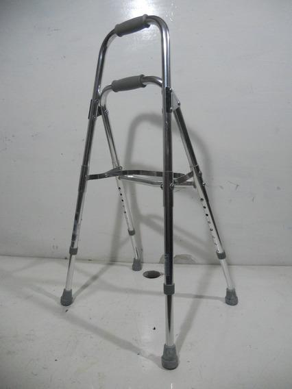 Muleta Baston Plegable Para Movilidad De 4 Puntos #a820