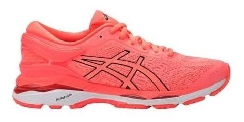 Zapatillas Asics Gel Kayano 24 Rosa/blanco Mujer Running