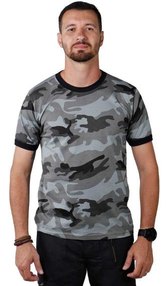 Camiseta Camuflada Urbano Choque Militar