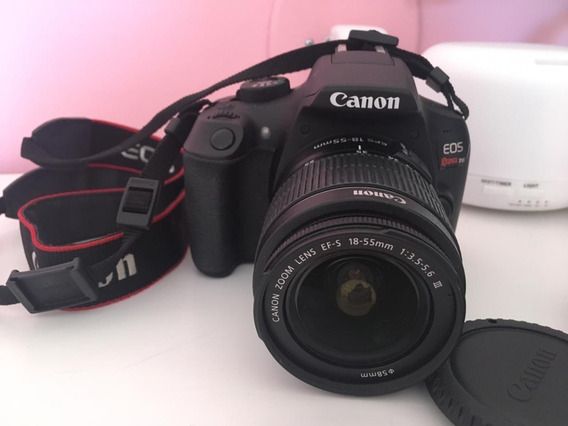 Câmera Canon T6 Rebel - Seminova