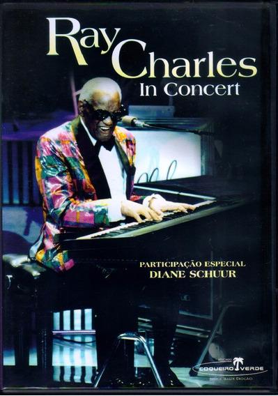 Ray Charles In Concert Dvd Original Novo Lacrado