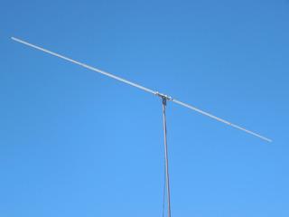 Antena 11 Mts. 27 Mhz. Dipolo Horizontal 1/2 Onda Rigida