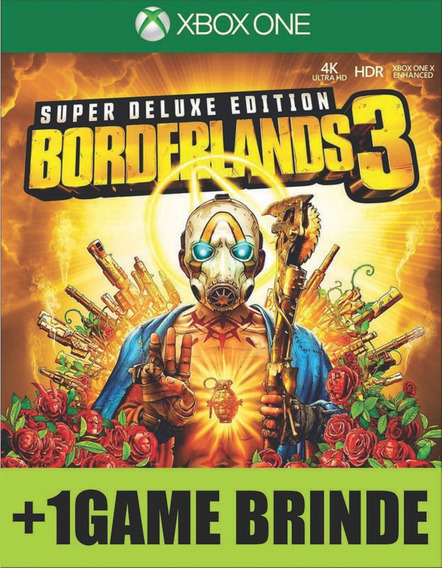 Borderlands 3 Super Deluxe Xbox One Digital On/off