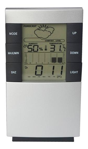 Lcd Digital Temperatura Humedad Termómetro Casa Clima
