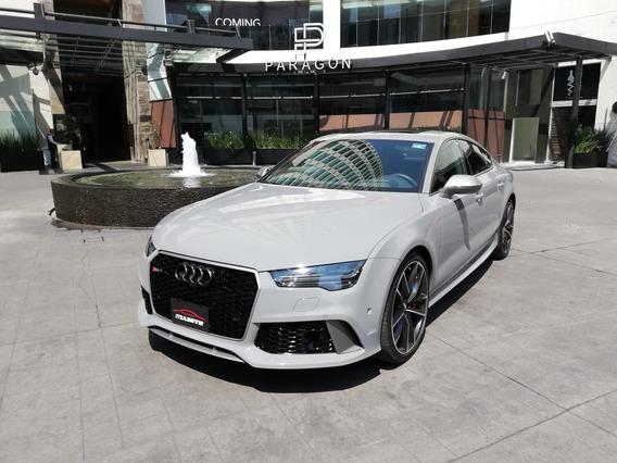 Audi Rs7 2018 Gris