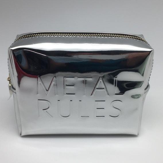 Porta Cosméticos Yves Saint Lurent Metal Rules Maquillaje