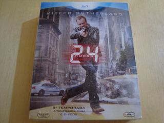 24hs Blu-ray 8ª Temporadas 6 Discos - Lacrado