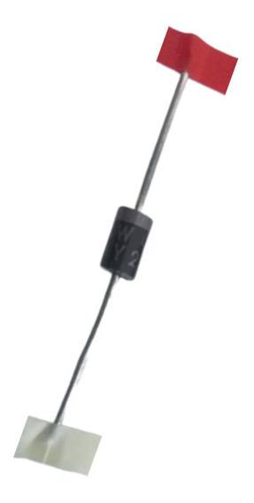 Diodo By255 Alta Tensão 3a 1300v Amplificador