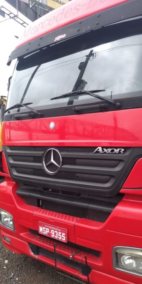 Mercedes Benz Axor 2540 , 6x2 , Ano 2011 Completo