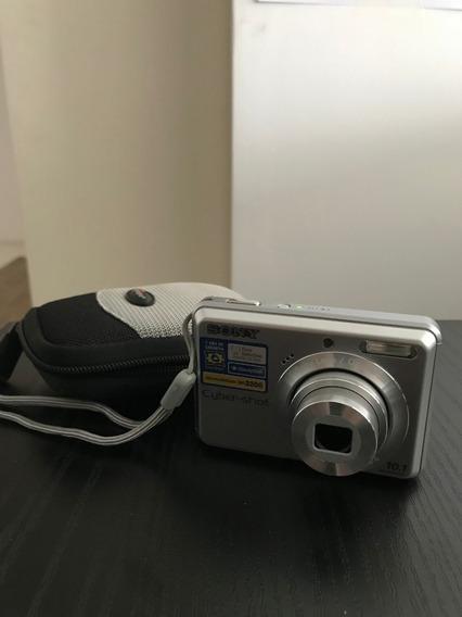 Câmera Sony Cyber-shot 10.1megapixels - Em Excelente Estado