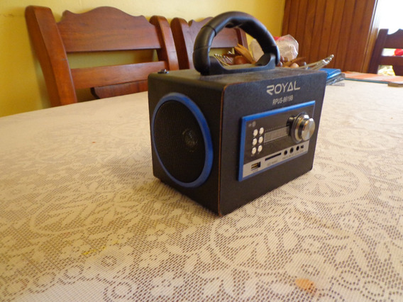 Radio Portatil Marca Royal